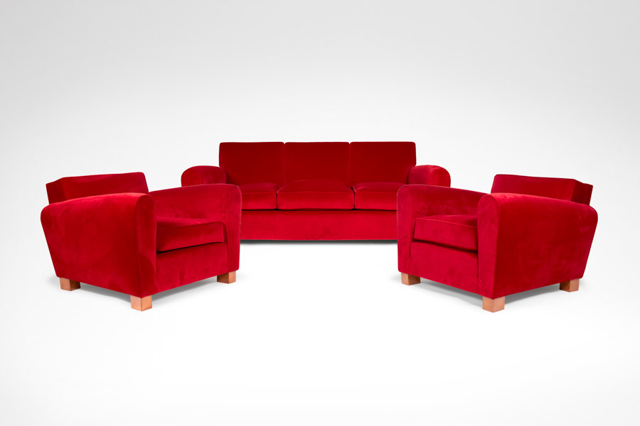 JEAN ROYÈRE Living room sofa and pair of armchairs masterpiece london 2016