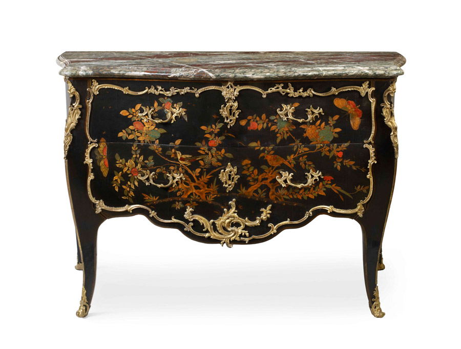French Louis XV lacquer commode masterpiece london 2016 Mallett antiques
