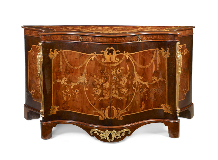 marquetry commode masterpiece london 2016 Mallett antiques