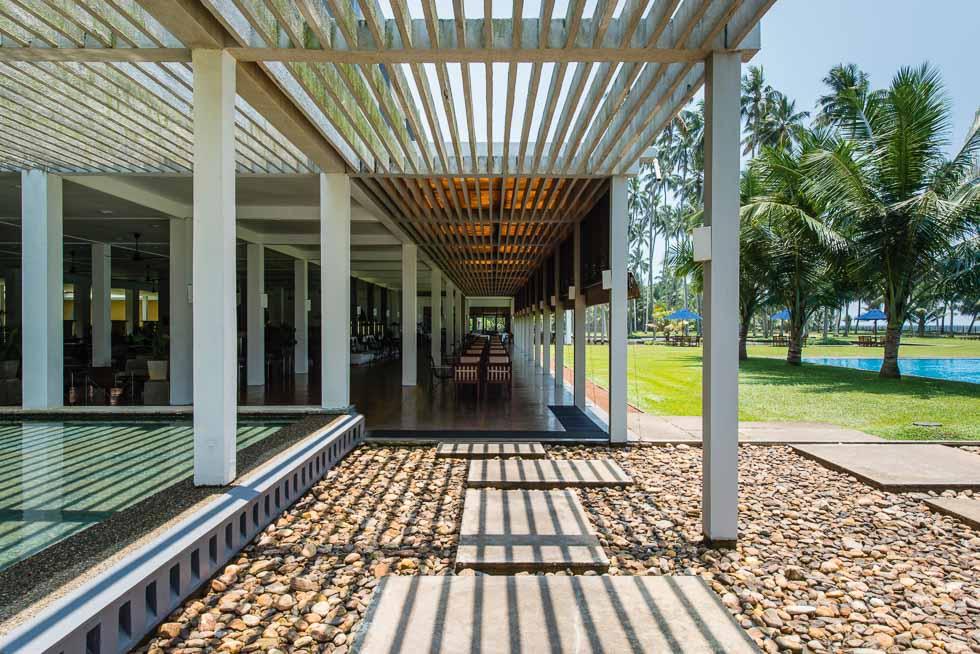 Geoffrey Bawa's The Blue Water Hotel, Wadduwa the Best of Sri Lankan Architecture
