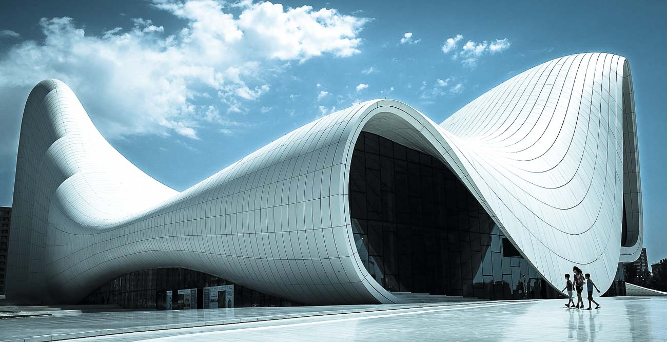 Is Architecture Art - Heydar Aliyev Center, Baku, Azerbaijan