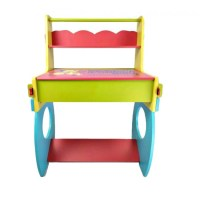 Multi Purpose Children's Colorful Wooden Learning Study ...