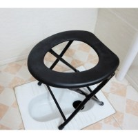 Potty Chair Foldable Toilet Commode Chair Medical Chair ...