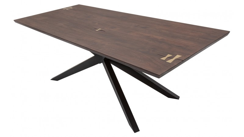 table a manger moderne design en bois d