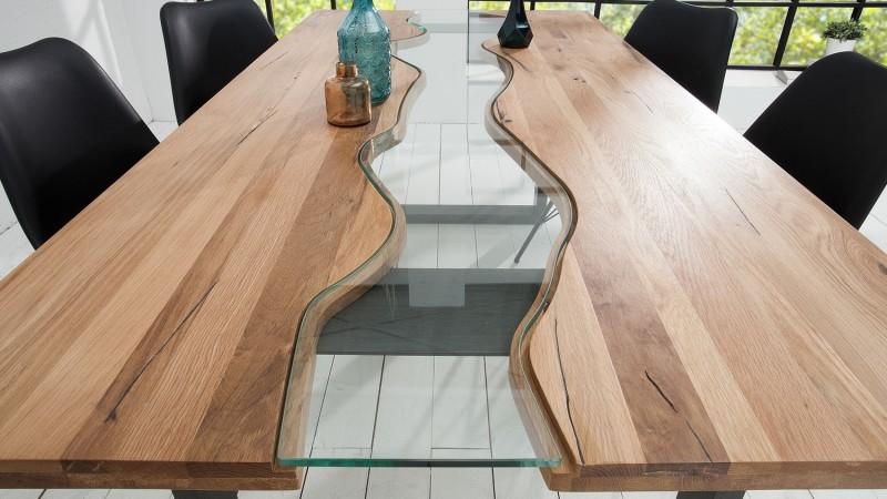 bois massif et verre rome