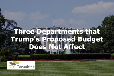 Three Departments that Trump's Proposed Budget Does Not Affect