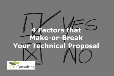 4 Factors that Make-or-Break Your Technical Proposal