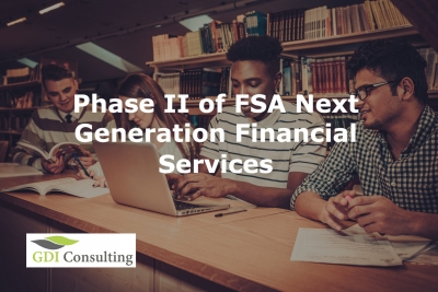 Phase II of FSA Next Generation Financial Services Environment