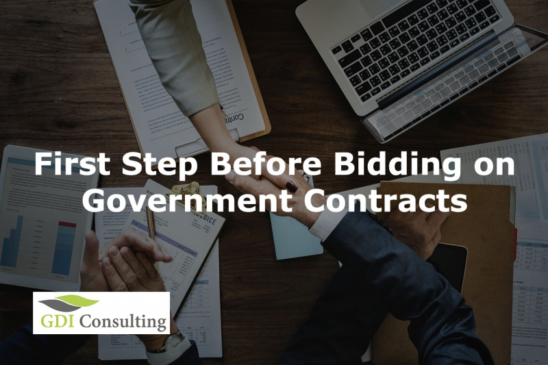First Step Before Bidding on Government Contracts