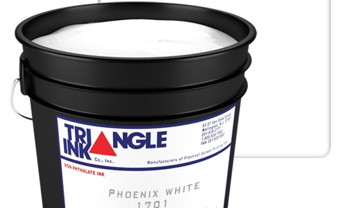 Triangle Ink Phoenix White by GDM Graphics