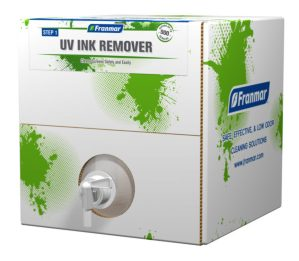 Franmar UV Ink Remover available at GDM Graphics 5-Gallon