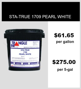 Triangle Ink 1709 Sta-True Pearl White