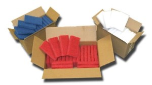 Cleaning pads per case available at GDM Graphics