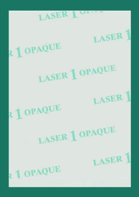 Laser 1 Opaque Heat Transfer Paper