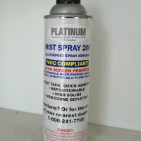 Platinum Mist Spray 200 All Purpose Spray Adhesive from GDM Graphics