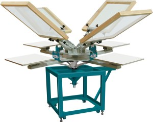 Heavy-duty, Six-color, Four-station, Model