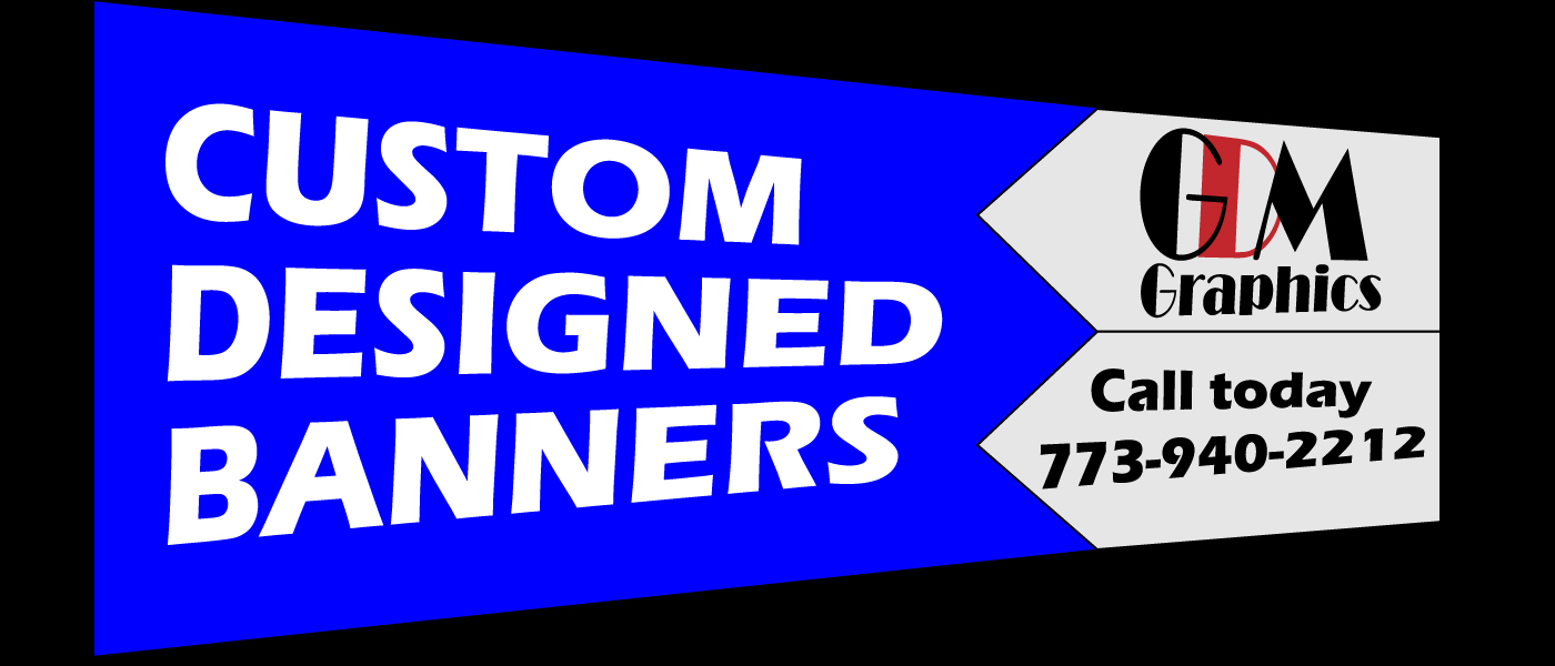 Banners and Signs now available from GDM Graphics