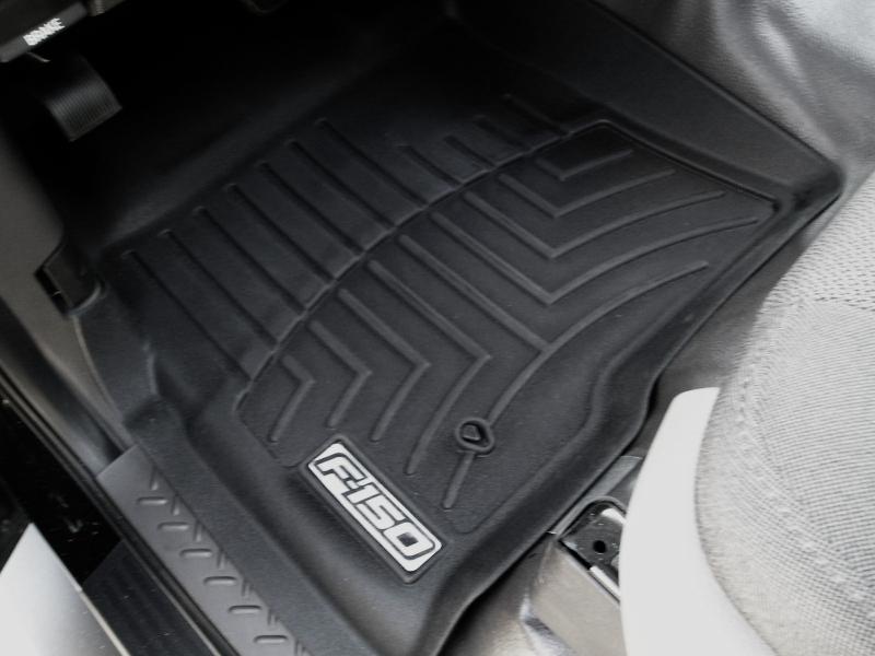 Floor mats for vinyl floors issue has been solved  Ford