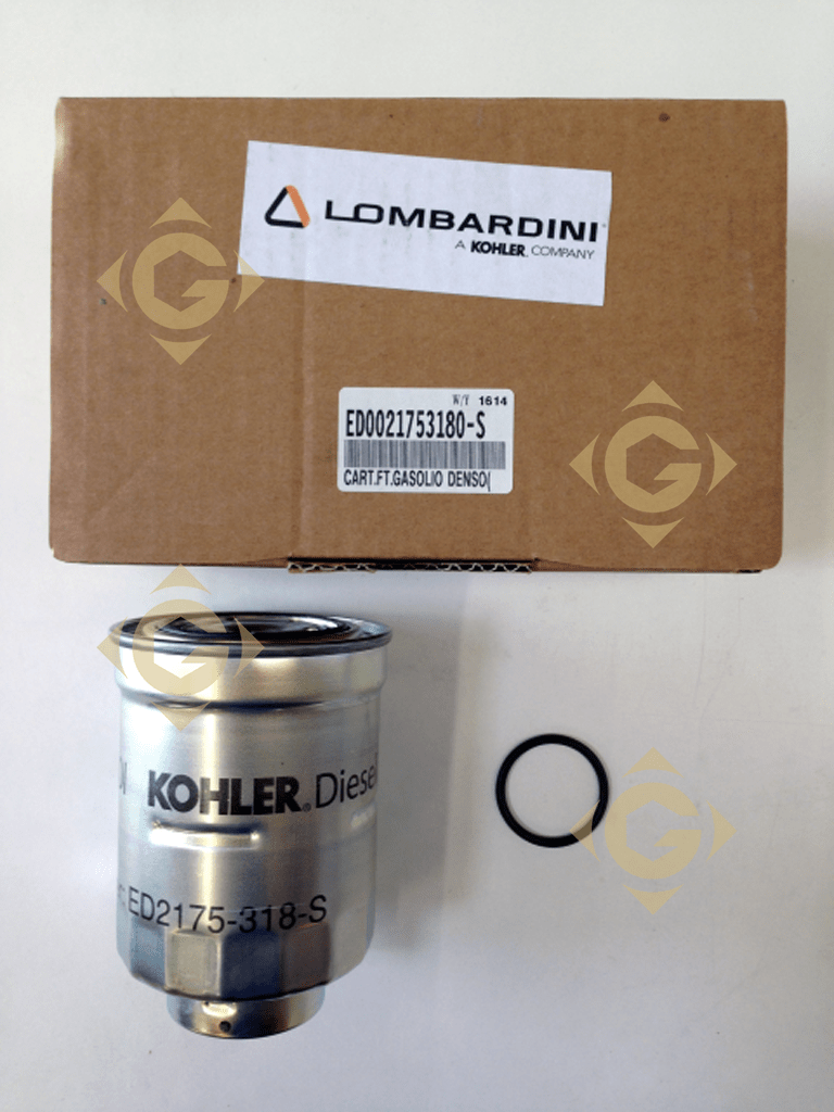 medium resolution of spare parts fuel filter cartridge 2175318 for engines lombardini by marks lombardini