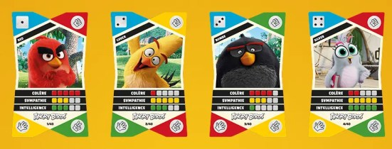 cora cards angrybirds