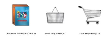 little shop accessories