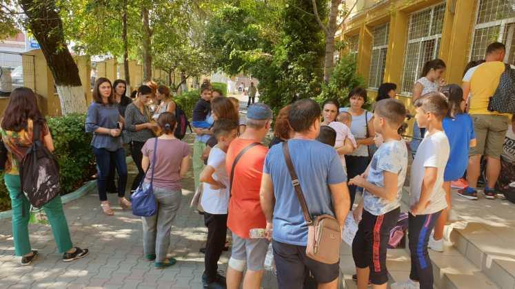 Craiova: Protest la Şcoala nr. 29