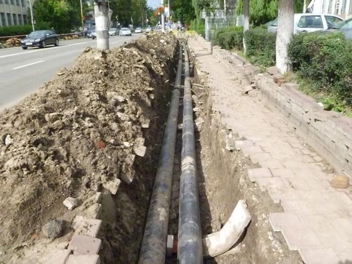 Contractul pentru extinderea rețelelor de apă și canalizare