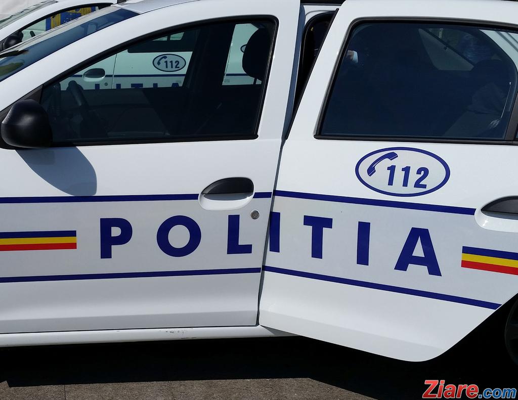 Gorj: Tânăr reținut după ce a condus fără permis și a fugit de la locul accidentului
