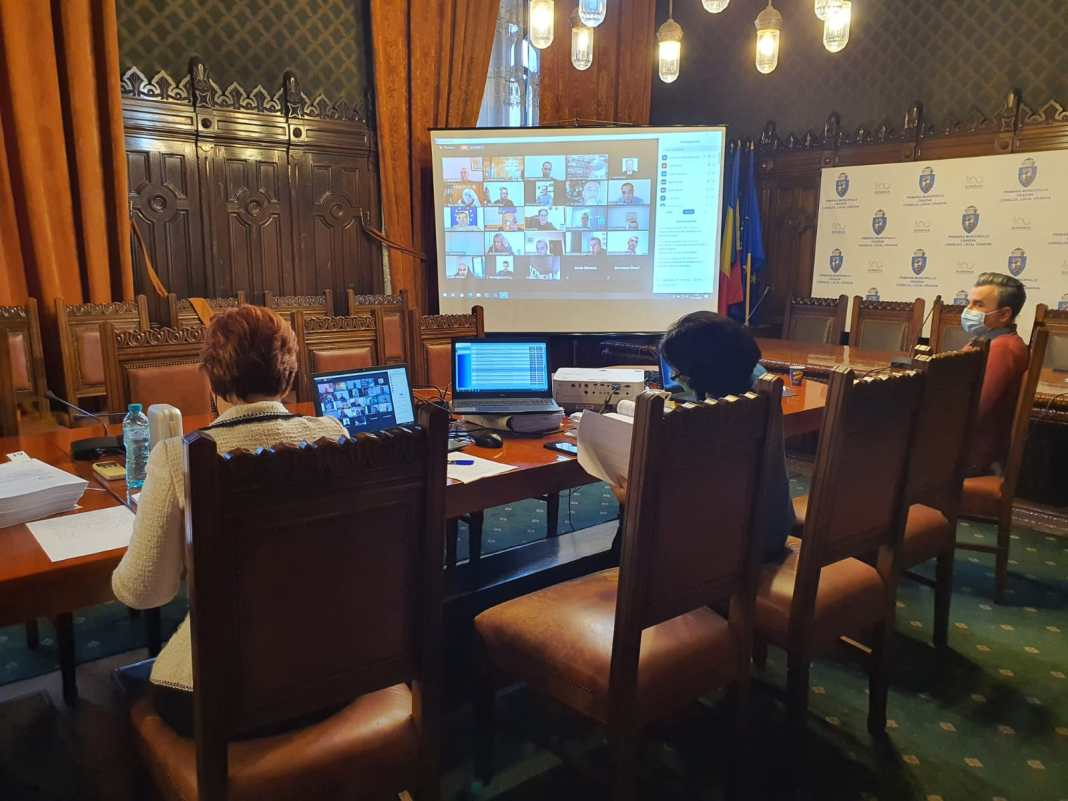 Impozitele și taxele din 2021 au încins spiritele în ședința ordinară a Consiliului Local Craiova de joi, ultima din 2020