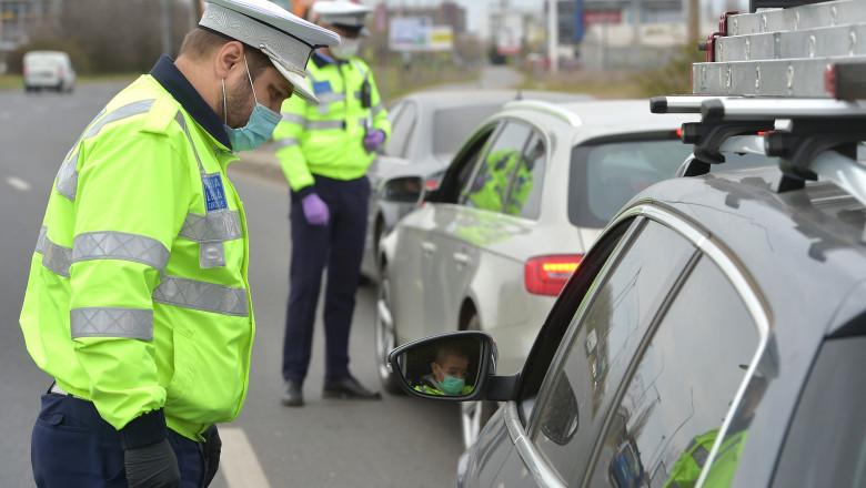 Șapte șoferi drogați, prinși în trei zile de polițiști în staţiunea Buşteni