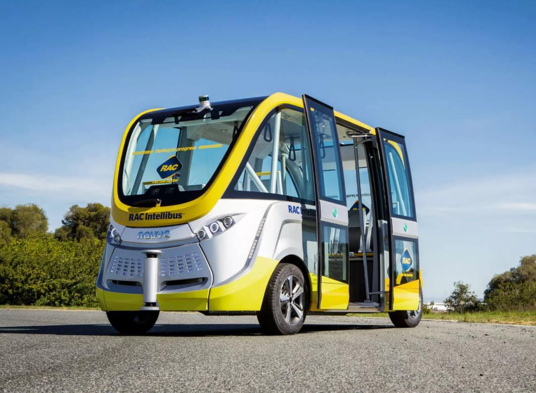 (foto: Cluju.ro) Primul oraș din România care va avea autobuz fără șofer