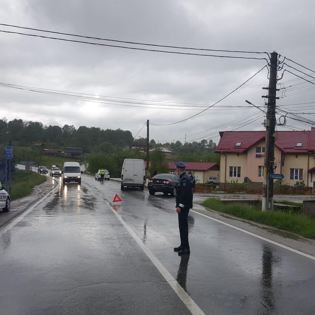 La Slătioara a avut loc un grav accident rutier