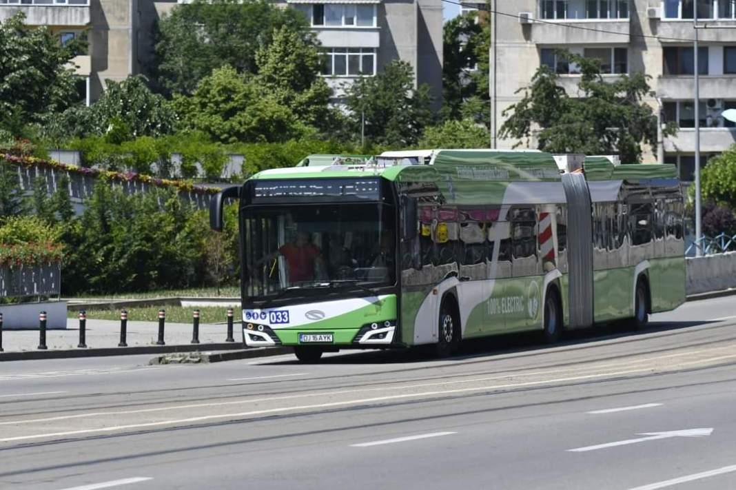 Primele 13 autobuze electrice au intrat pe traseele RAT Craiova