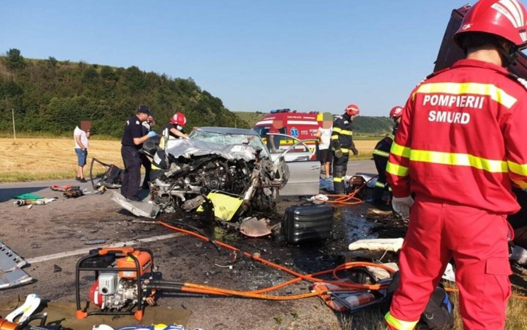 7 morți, între care 2 copii, în accidentul grav produs în Bacău