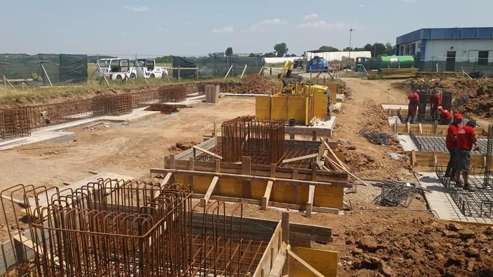 Au început lucrările la noul terminal de sosiri pe care îl va avea Aeroportul Internaţional Craiova