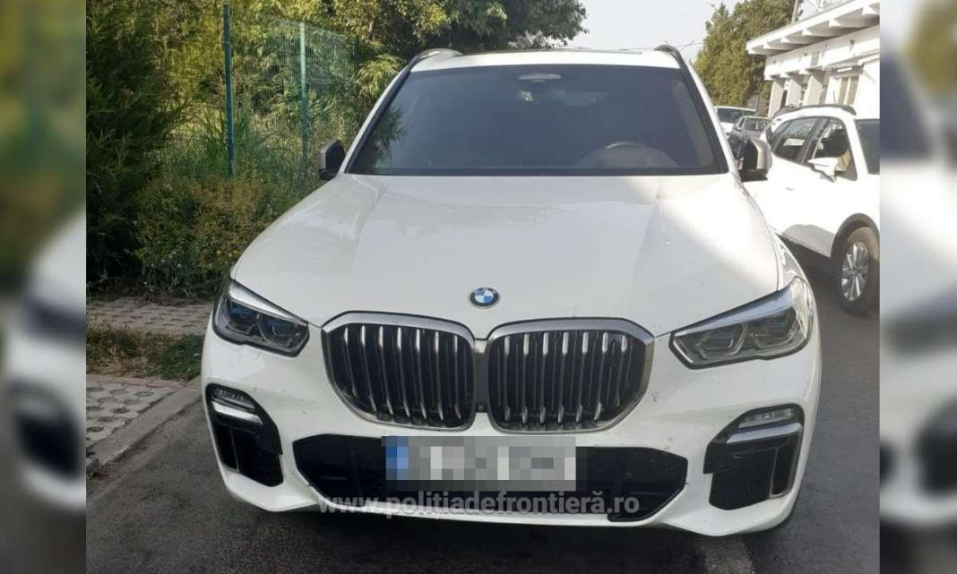 Autoturism furat dn Italia, confiscat de polițiștii de frontieră de la Vama Veche