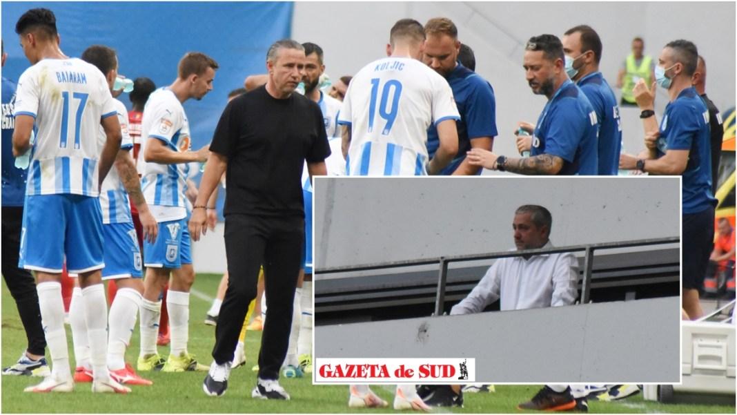 Laurenţiu Reghecampf trebuie să găsească drumul spre un fotbal plăcut şi eficient ca să revină liniştea în Bănie (Foto: Alex Vîrtosu)