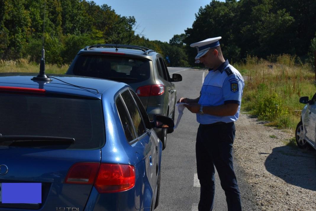 Peste 5.000 de permise reţinute de poliţişti în ultima săptămână