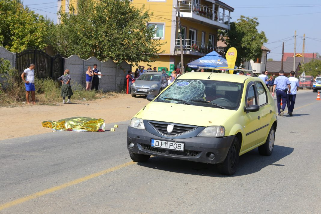 Un bărbat, accidentat mortal la Bădoși