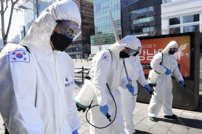 Record de cazuri noi de coronavirus în Coreea de Sud