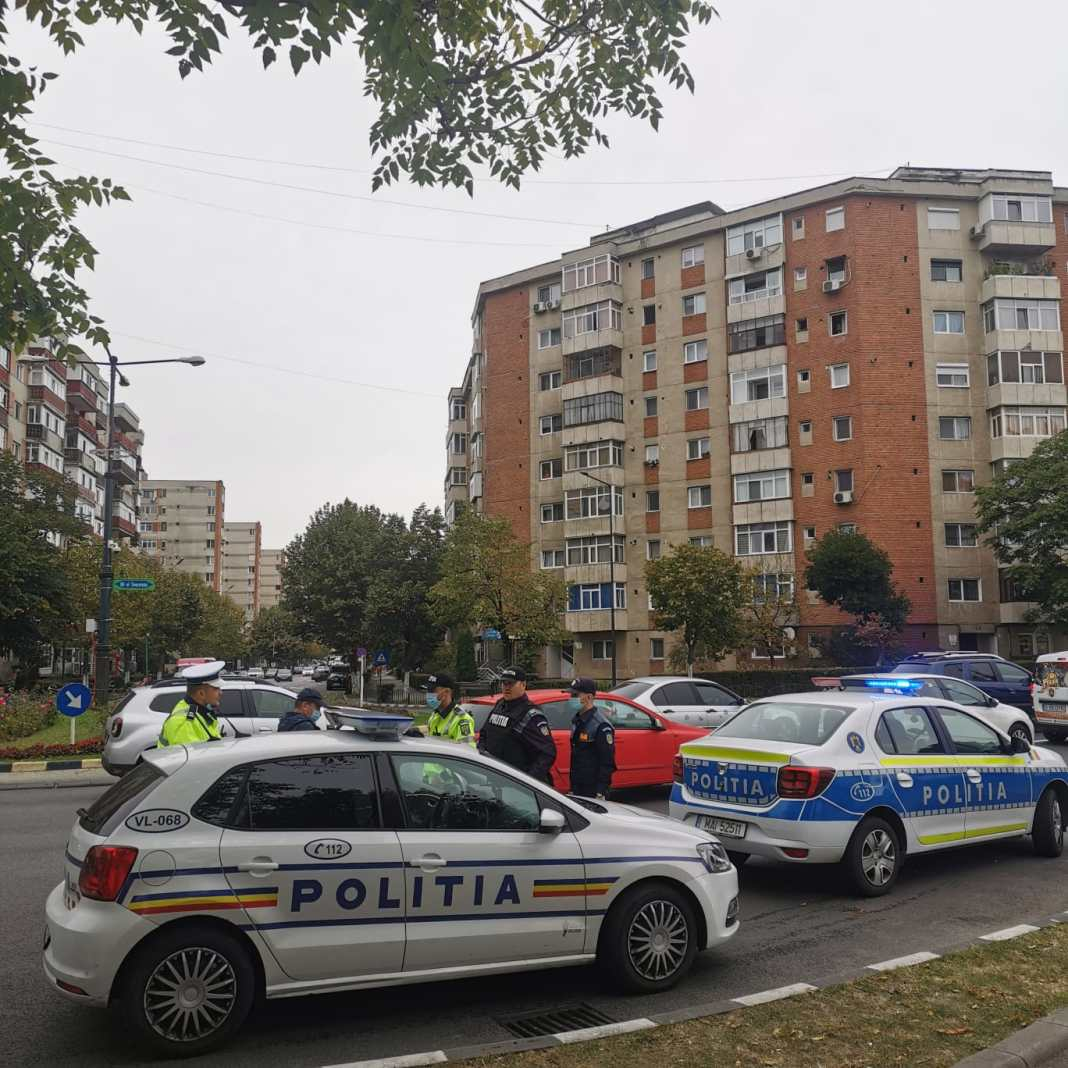Polițiștii rutieri din cadrul Poliției Municipiului Râmnicu Vâlcea, Secției 1 Poliție Rurală Râmnicu Vâlcea și Secției 2 Poliție Rurală Milcoiu