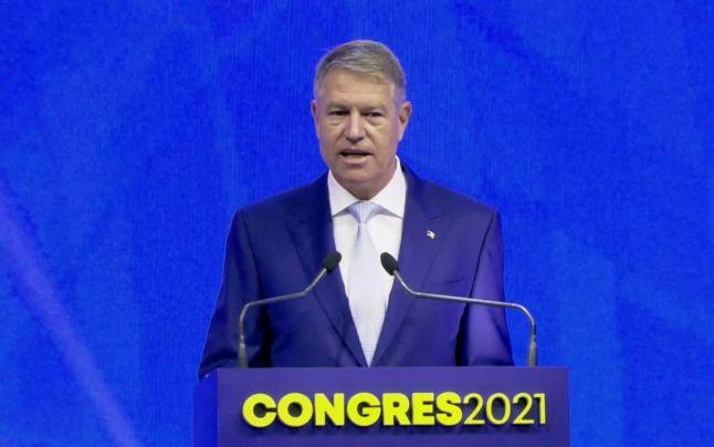 Iohannis, la Congresul PNL: Nu e niciun motiv real ca actualul premier să fie demis sau să-și dea demisia