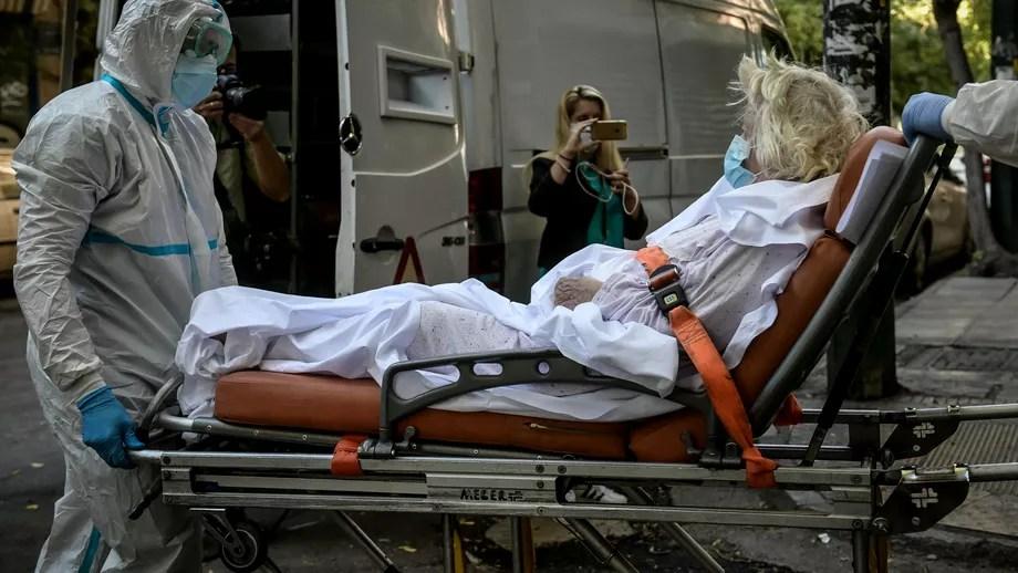 Primii pacienți români COVID-19 în stare critică transferați în Ungaria