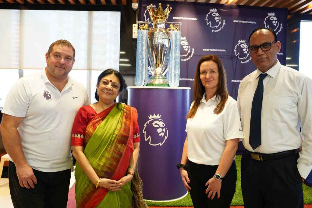 The English Premiere League World Cup unfurled at G.D.Somani Memorial School