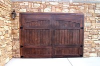 Stain Grade Custom Wood Garage Doors | Garage Doors Unlimited