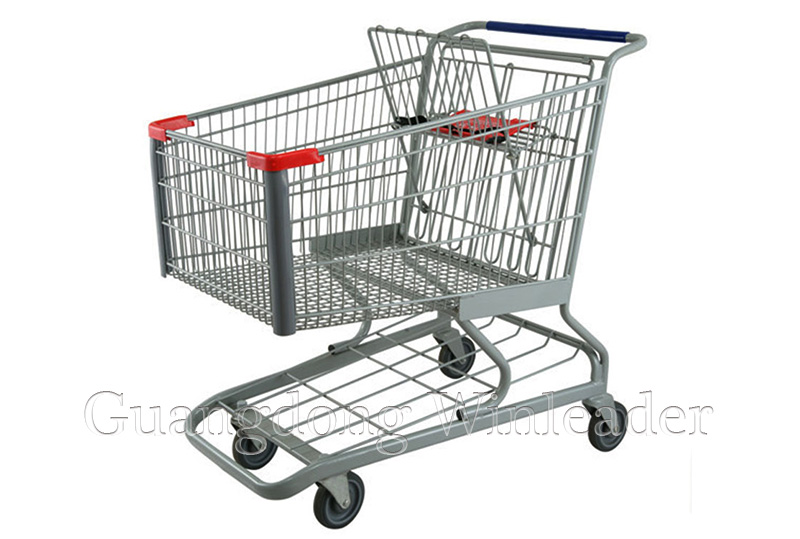 Lack of standards for supermarket trolleys in China