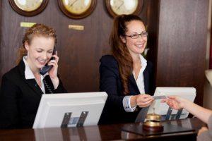 Recrutement Hôtellerie réceptionniste ge rh expert