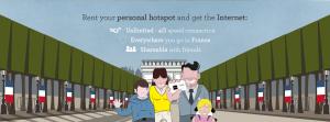 Choice Hotels propose une borne wifi 4G en location