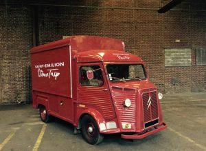Voici le nouveau truck qui va faire fureur, le « Saint-Emilion Wine Trip »