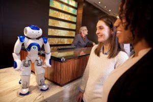 Hilton vient de recruter son premier Robot